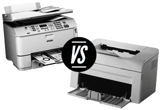 Laser Vs. Inkjet printer