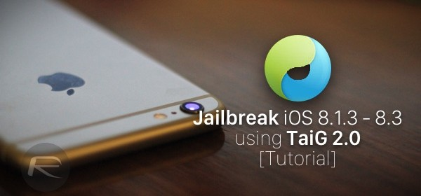 Untethered Jailbreak iOS 8.1.3-8.3